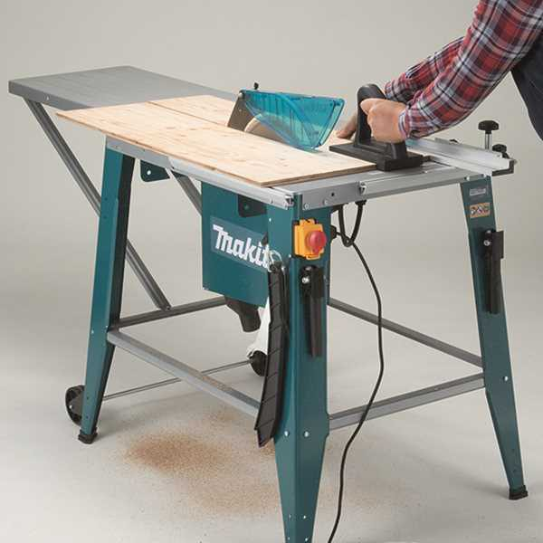 Sierra de mesa con capacidad de corte de 85 mm.