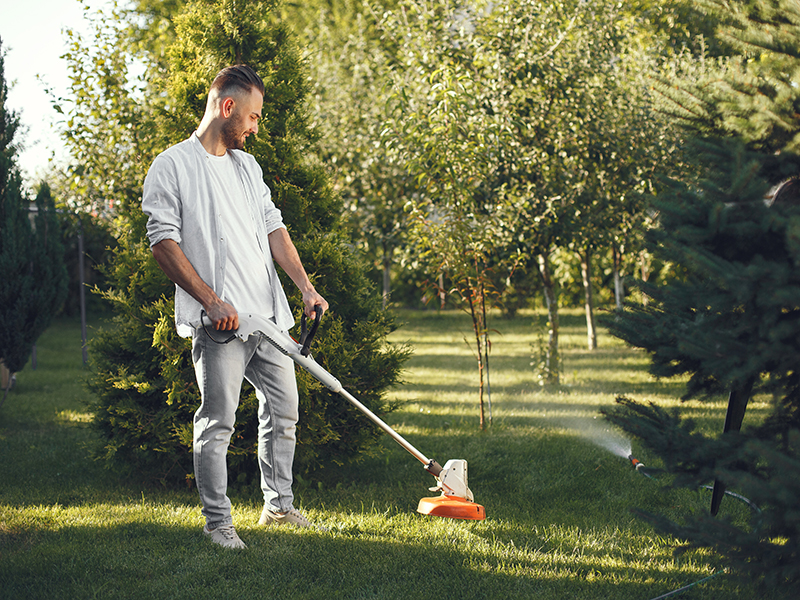 Cuidado jardín - Desbrozadora