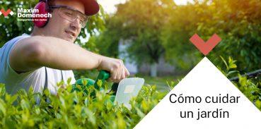 Portada Cómo cuidar un jardín