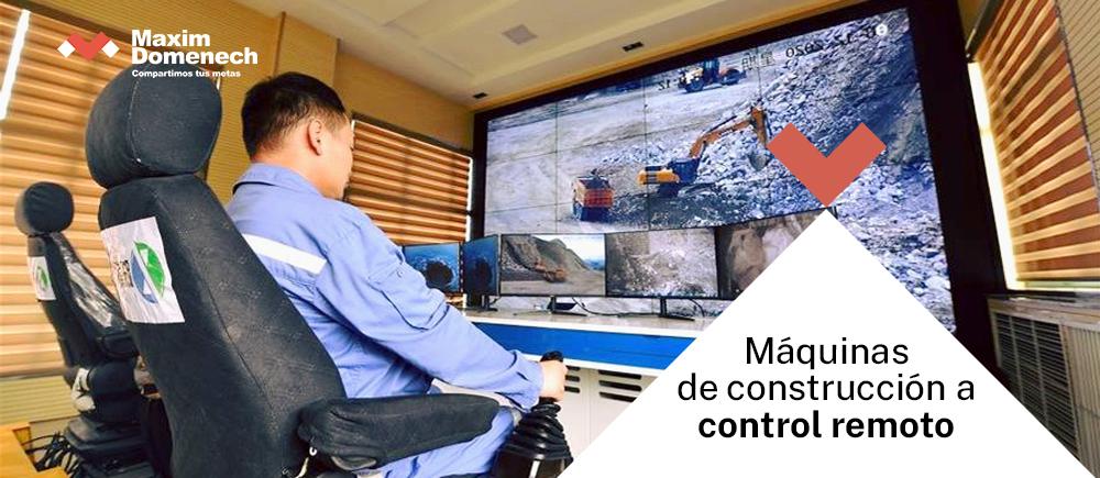 Portada Maquinaria a control remoto