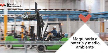 Portada Maquinaria a batería y medio ambiente